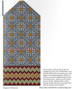 Knitting Charts, Lace Knitting, Knitting Socks, Knitting Patterns, Knitted Mittens Pattern, Knit Mittens, Knitted Gloves, Scandinavian Pattern, Crochet Chart