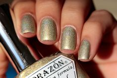 This spring El Corazon company added 6 new shades to its line of scattered holo nail polish. Holo Nail Polish, Nail Art Blog, Swatch, Nails, Beauty, Hearts, Finger Nails, Ongles, Nail