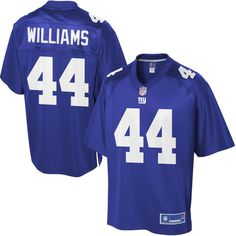 Youth New York Giants Andre Williams NFL Pro Line Team Color Jersey