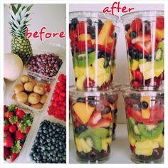 Fruit Salad Presentation Healthy 58 Ideas For 2019 Healthy Smoothies For Kids, Healthy Meals For Kids, Healthy Fruits, Healthy Snacks, Healthy Recipes, Fruit Diet, Fruit Snacks, Kids Fruit, Fruit Smoothie Recipes