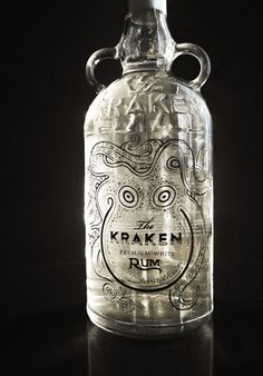 The Kraken Rum Redesign on Packaging Design Served