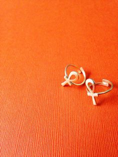 Tiny Ankh Ring // Key of Life Gold Ankh Ring Ancient by Afrohemien