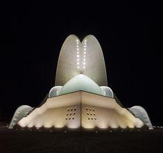 Santiago Calatrava - Auditorio de Tenerife Tenerife Canary Islands Spain - 1991-2003