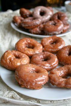 Pumpkin donuts. Yum.