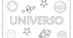 Menta Más Chocolate - RECURSOS y ACTIVIDADES PARA EDUCACIÓN INFANTIL: Proyecto: EL UNIVERSO (1) Sistema Solar, Pre School, Solar System, Education, Chocolate, Montessori, Universe, First Week Activities, Astronomy