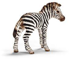 __Zebra foal__Schleich Figurine available at Fantaztic Learning Store Canada - shop.fantazticcatalog.com