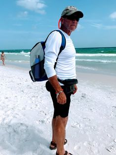 a83a3d5f ... waterproof iPhone bag, floating sunglass straps, polarized sunglasses,  long sleeve UV protection rash guard, wide brimmed hat and a backpack  cooler bag.