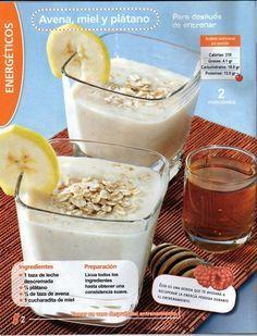 Prepárate este delicioso y energético licuado para después de entrenar. #delrecetario #taispa