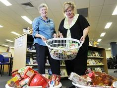 Canned food wipes TAFE library fines for needy families - great story #TAFENSW