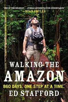Walking the Amazon book cover