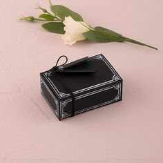 Chalkboard Chic Favor Box Kit - Bridal Everything #RusticWedding #Chalkboard #WeddingFavors
