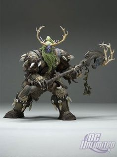 World of Warcraft Series 2 Night Elf Druid: Broll Bearmantle Action Figure. THE SECOND WAVE BEGINS! America's #1 selling PC game since 2004 continues its incredible showing in the collectible action figure arena with WORLD OF WARCRAFT Series 2 action figures and the second of the WORLD OF WARCRAFT DELUXE Collector action figures! WORLD OF WARCRAFT is the massively multiplayer online role-playing game with over 8.5 million devoted subscribers, and now its characters are captured in 3-D by…
