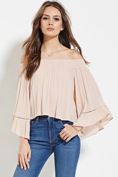 Contemporary Crinkled Gauze Top | LOVE21 #f21contemporary