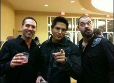 Nick: Cheers! : ) Zak: Hey you!! ; ) Aaron: You cray cray!! :p Aha!! Love these guys! : )