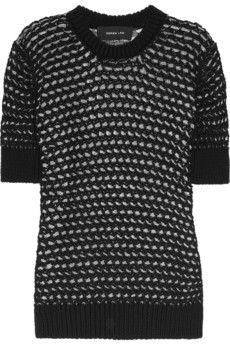 Derek Lam  Latticed cotton-blend sweater  £505.68