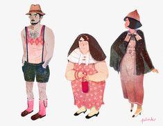 Lisk Feng #illustration #people