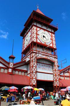 Stabroek Market in Georgetown, Guyana #travel     http://www.weekendblitz.com