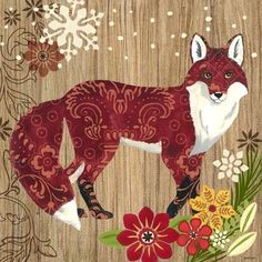 Alpine Fox ~ by Jennifer Brinley