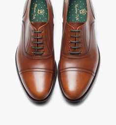 LEATHER ENGLISH DRESS SHOE