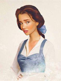 Disney Belle by Jirka