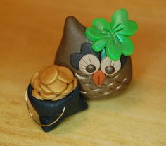 Hey, I found this really awesome Etsy listing at https://www.etsy.com/listing/96656672/polymer-clay-owl-roxy-the-owl-lucky
