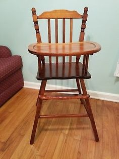Jenny Lind Baby High Chairs for sale Antique High Chairs, Wood High Chairs, Wooden Baby High Chair, Baby Chair, Amish Furniture, Nursery Furniture, Antique Furniture, Birthday Highchair, Jenny Lind