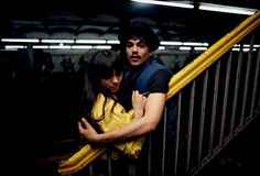 Untitled, (Couple on the Platform) from Subway,1980 Bruce Davidson