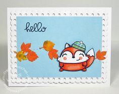 Card by PS DT Heidi Van Laar using the PS stamp set Chilly Chums