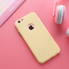 """Compatible Brand: Apple iPhones Type: Case Size: 4.7"""" Function: Dirt-resistant Compatible iPhone Model: iPhone 6,iPhone 6s Retail Package: No Color: Black, sky blue, mint, pink, purple, yellow Drop sh"""