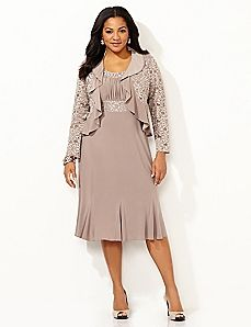 Envisioned Elegance Jacket Dress