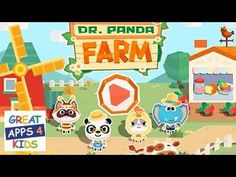 Dr. Panda Farm | Game App for Kids