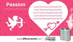Passion Essential Oil Diffuser Blend