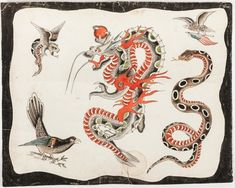 Traditional Tattoo Flash, Tattoo Inspiration, Rooster, Tattoos, Animals, Art, Art Background, Tatuajes, Animales
