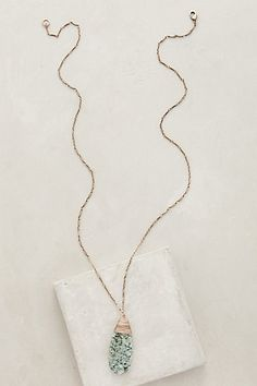Sierra Madre Pendant Necklace #anthropologie