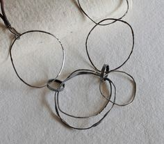 Montserrat Lacomba. Irregular Circles Necklace