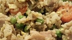 Photo of chinese chicken fried rice ii by lisa tourville Healthy Dinner Recipes, Cooking Recipes, Rice Recipes, Recipies, Chicken Recipes Video, Chinese Chicken, Chinese Food, How To Cook Eggs, Fried Chicken