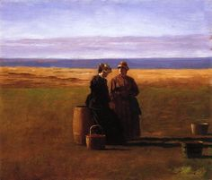 The Conversation by Eastman Johnson