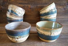 """1,961 Likes, 83 Comments - Samirah Steinmeyer (@seedlingclayworks) on Instagram: """"A friend asked me to make him some bowls and they are finally finished. I enjoyed switching gears…"""""""