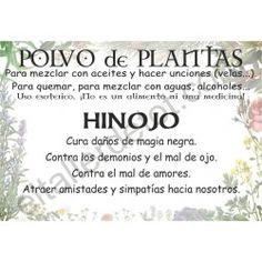 CONTRA LA GENTE TÓXICA - Polvo de plantas HINOJO