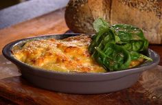 Cheese and Onion Gratin with Smoky Bacon - RTE Food Neven Maguire Home ...