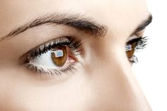 LASIK eye surgery myths are debunked here. Don't let LASIK myths keep you from enjoying better vision. Learn the facts and put your fears about LASIK to rest. Sunken Eyes, Under Eye Wrinkles, Eye Sight Improvement, Vision Eye, Healthy Eyes, Cool Eyes, Eye Color, Hair Color, Brown Eyes