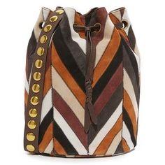 Jerome Dreyfuss Patchwork Popeye Bucket Bag