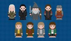 The Lord of the Rings Cross Stitch Chart