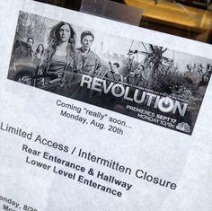 Filming for #Revolution Episode 5 began yesterday!