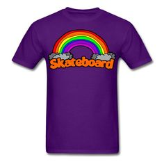 SICKIE THREADS | SK8 THE RAINBOW - Mens T-Shirt