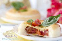 Cherry Tomato Quiche Buns チェリートマトのキッシュパン
