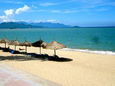 Nha Trang beach in Vietnam (traveling 9 to 5)