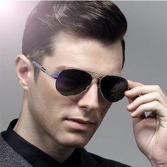 d8ca7591bda steampunk goggles Polarized Men Carter lunette Sunglasses hot rays male  aviator Sun Glasses Famous Brand designer Driver Eyewear-in Sunglasses from  Men s ...