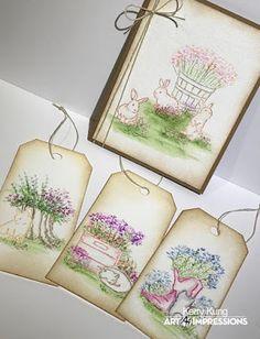 Art Impressions Blog: Challenge 204: Spring-y Cards Week 2!