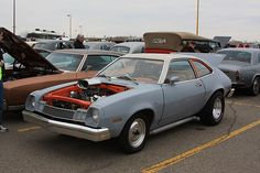 Ford Pinto | Serious looking V8 powered Ford Pinto with side… | Flickr